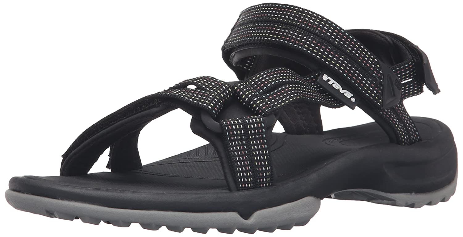 Teva Women's W Terra Fi Lite Sandal B018S2X2JC 9 B(M) US|City Lights Black/Pastel