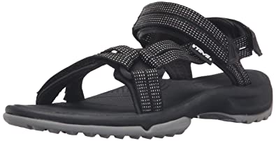 b3e876ede671 Teva Women s W Terra FI LITE Sandal City Lights Black Pastel 5 ...