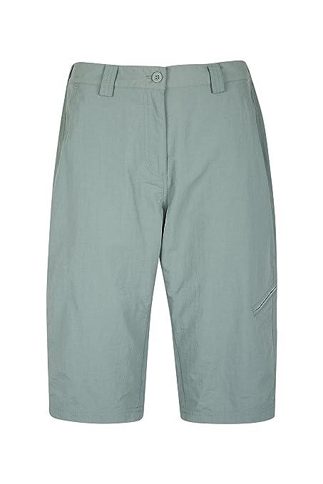 377bc652f17 Mountain Warehouse Explore Womens Long Shorts - Fast Drying Summer Shorts