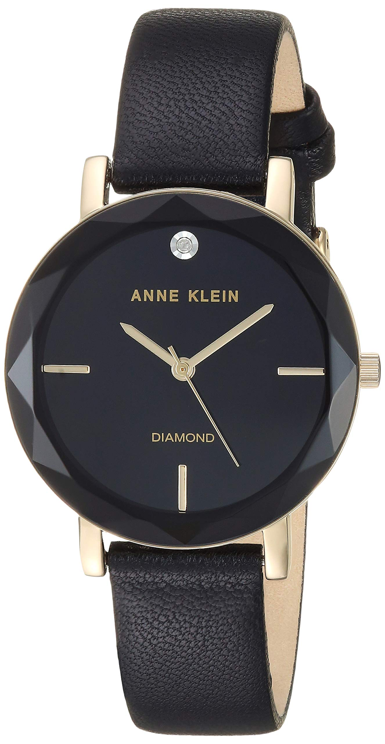 Anne Klein Dress Watch (Model: AK/3434BKBK) by Anne Klein