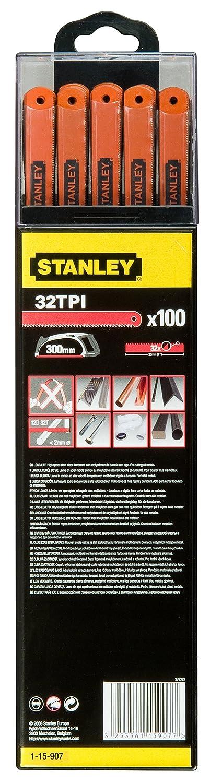 Stanley Metallsägeblatt (300mm 32 25 HSS 100er 100er 100er Box) B0044D88QC | Ausgezeichnet  932fc5