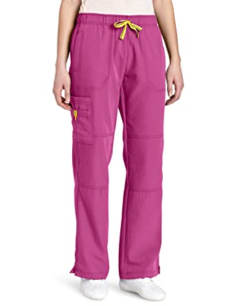 a0f89961a34 Image Unavailable. Image not available for. Color: WonderWink Four-Stretch  5214 Sporty Cargo Pant