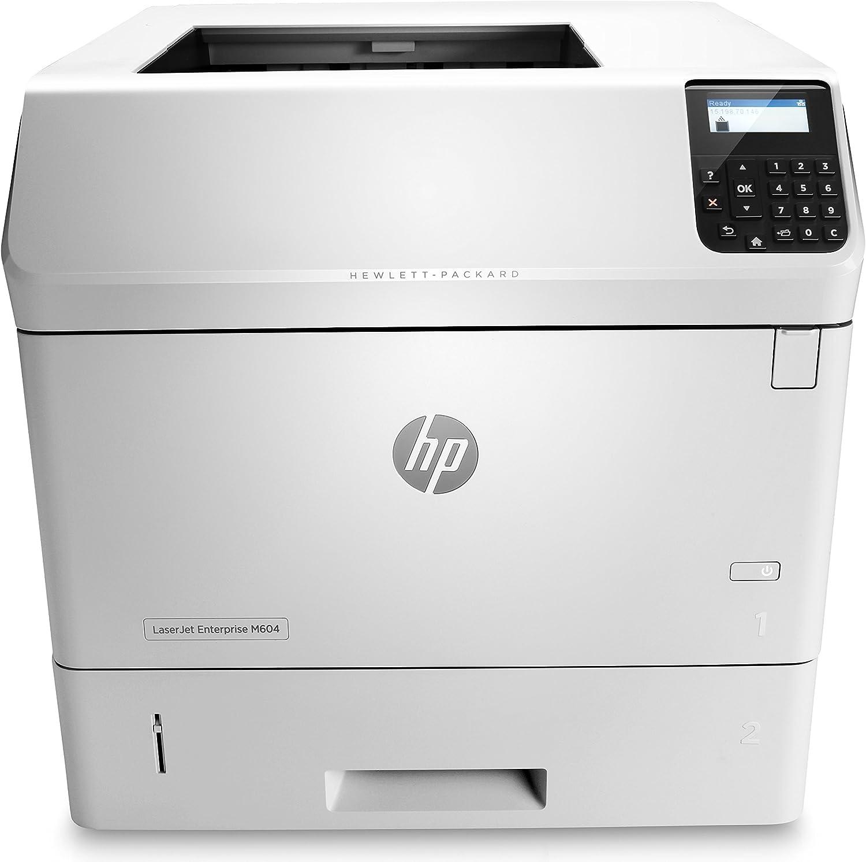 HP Laserjet Enterprise M604n Printer, (E6B67A) (Renewed)