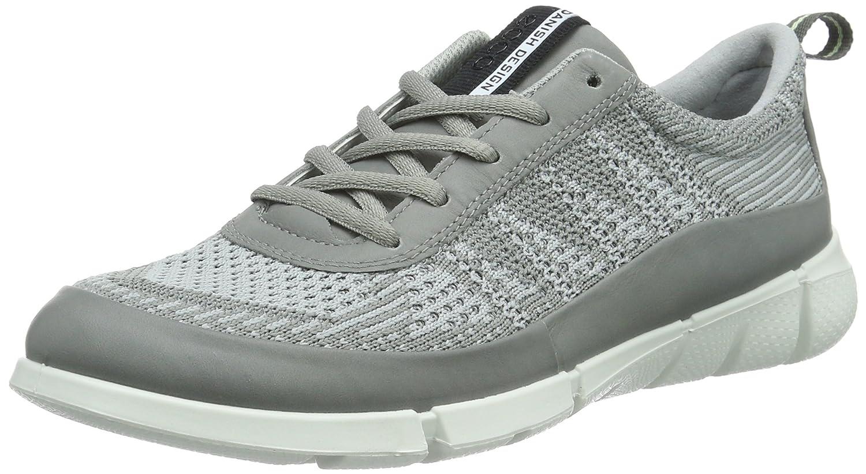 ECCO Women's Intrinsic Knit Fashion Sneaker B0163GB5FI 37 EU/6-6.5 M US|Wild Dove/Concrete