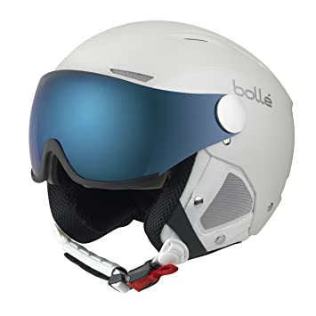 Bollé Casco de esquí Backline Visor White/Silver/Grey/Blue/Lemon,