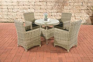 CLP Juego de diseño sillones de comedor casoli, Natura (mesa ...