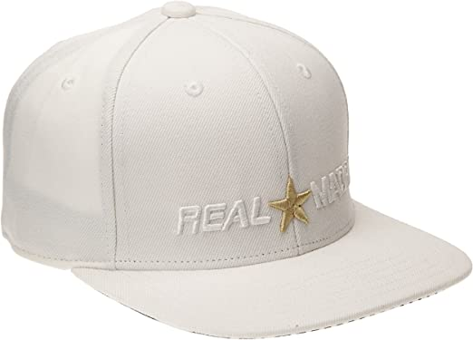 adidas - Gorra Real Madrid CF 2014-2015, Color Blanco, Talla única ...