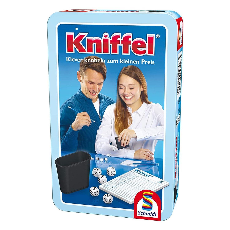 Schmidt Spiele 51203 - Kniffel, Metalldose
