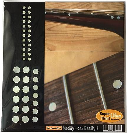20 STÜCKE Ahornholz Gitarre Griffbrett Inlay Dots Marker 6mm für E gitarre
