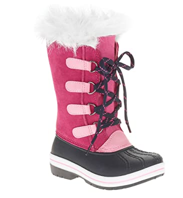 40a003ddc916a Image Unavailable. Image not available for. Color  Toddler Girls Ozark  Trail Pink Tall Lace-Up Winter Boot Size 7