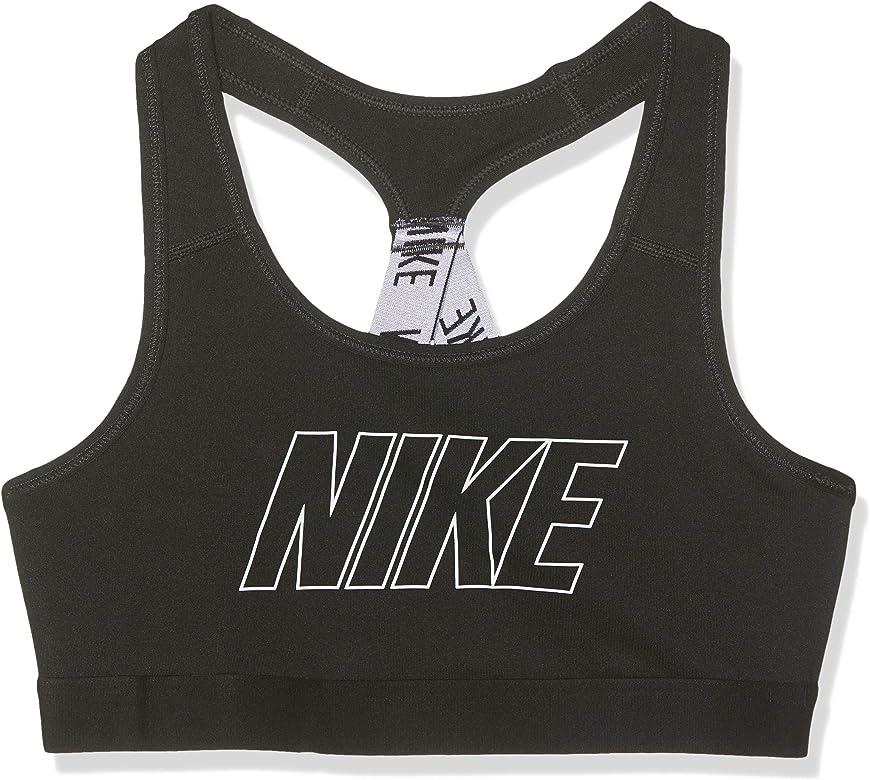 Nike niña Logo Strap GFX - Sujetador Deportivo, Niñas, 939076-010 ...