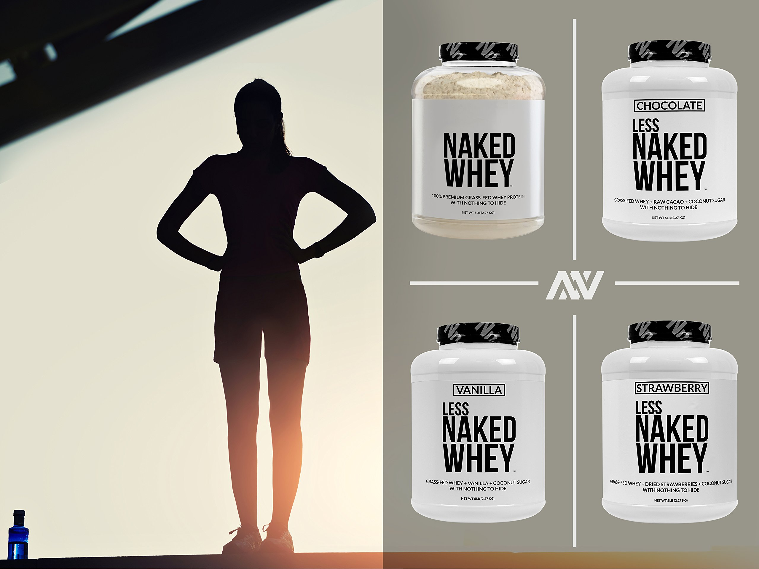 Naked WHEY 1LB 100% Grass Fed Unflavored Whey Protein Powder - US Farms, Only 1 Ingredient, Undenatured - No GMO, Soy or Gluten - No Preservatives - Promote Muscle Growth and Recovery - 15 Servings by NAKED nutrition (Image #9)