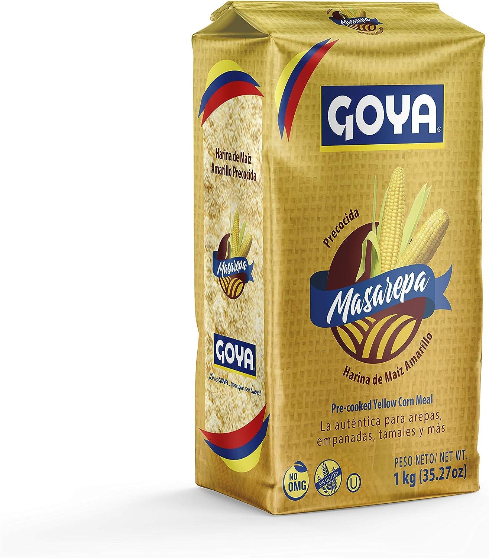 Goya Masarepa Amarilla 5073 - Paquete de 10 Unidades: Amazon ...