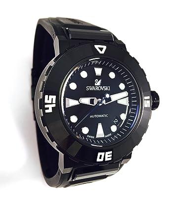 4ee204338f1c22 Swarovski Watch Octea Abyssal Automatic Men s ref 1124146 Black Diver Watch