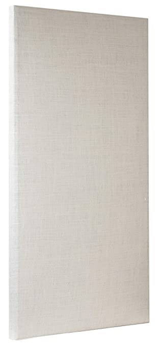 sold worldwide great look order online ATS Acoustic Panel 24x48x2 Inches, Beveled Edge, in Ivory