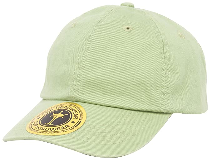 aa99af43b84 Amazon.com  Youth Cotton Washed Chino Twill Cap - Apple Green  Clothing