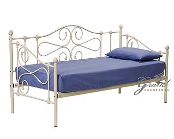 Metal Beds New Jocelyn Style Victorien Sous Lit 0 9 M Lit Simple En