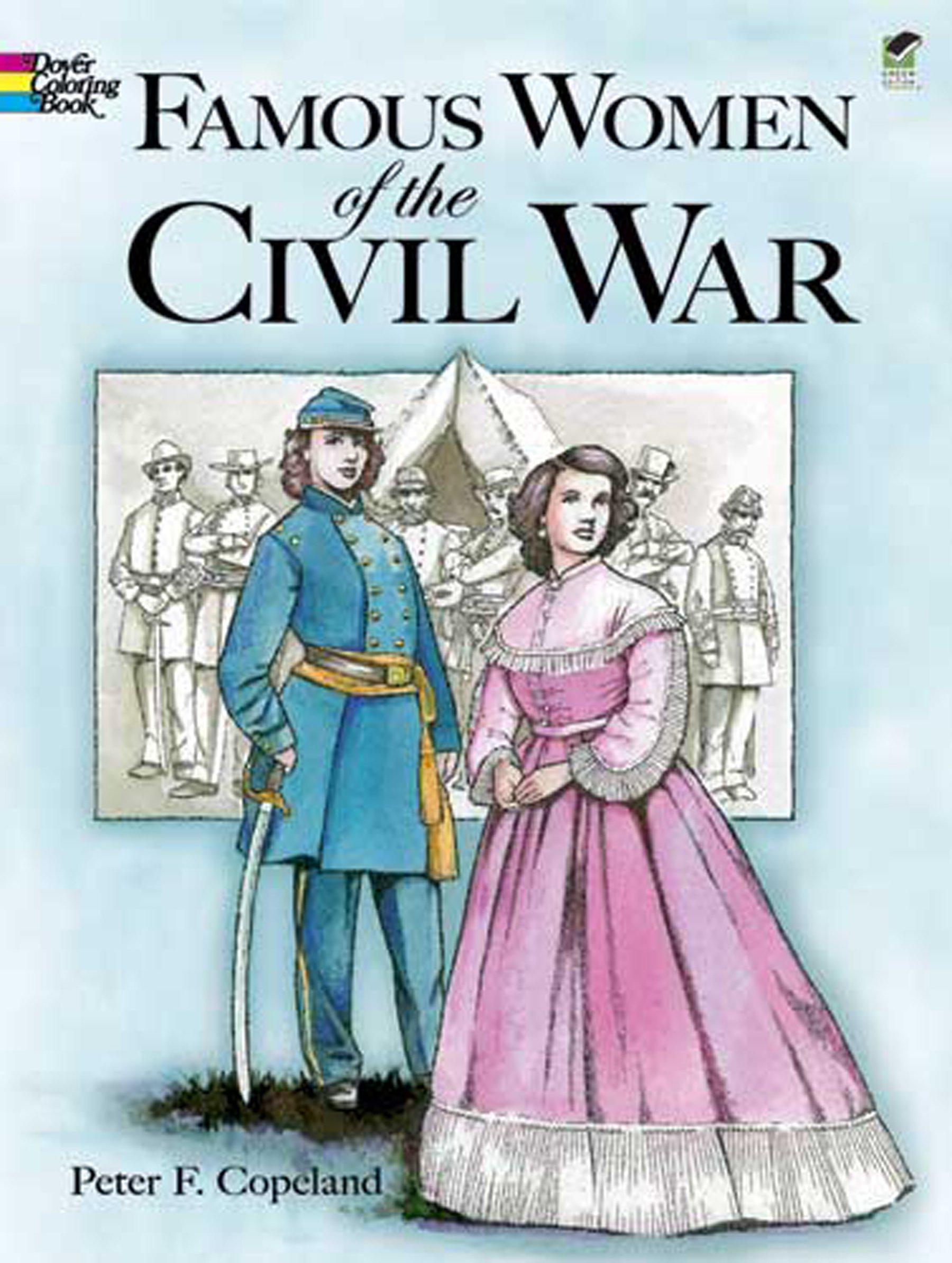 Amazon.com: Famous Women of the Civil War Coloring Book ...