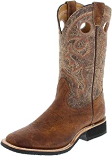 Amazon.com | Boulet Men&39s Shooter Cowboy Boot Square Toe - 4004