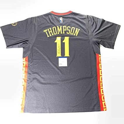 Klay Thompson signed jersey PSA/DNA Golden State Warriors Chinese ...