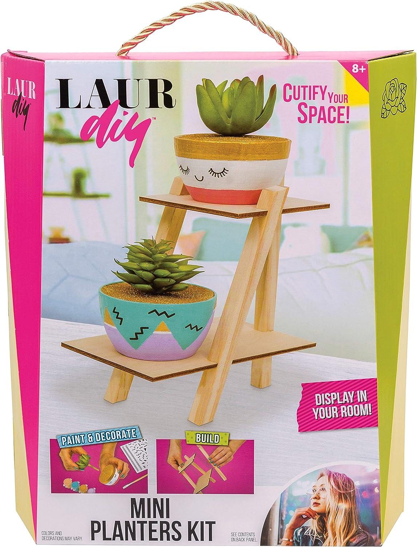 Rose Art LaurDIY Mini Planters Kit