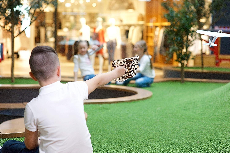 Jeu Construction Adulte en Bois l/'A/éro-Lanceur Puzzle 3D Сonstruction M/écanique Ugears Puzzle 3D M/écanique Maquettes en Bois a Construire Miniature M/écanique en Bois /à Monter soi-m/ême