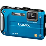 Panasonic デジタルカメラ LUMIX FT3 スプラッシュブルー DMC-FT3-A