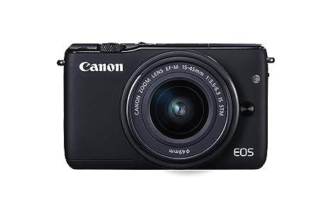 Canon EOS M10 + EF-M 15-45mm f/3.5-6.3 IS STM: Amazon.es: Electrónica