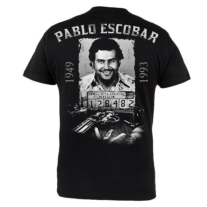 58302b7d2 Mafia Hardcore ROPA camiseta PABLO escobar. El PATRULLA DEL MAL. Regla  revés. gamberro