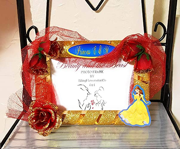 Amazoncom Princess Belle Picture Frame Beauty And The Beast
