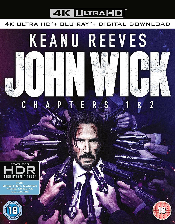 John Wick: Chapter 1 & 2 [4K Ultra HD + Blu-ray] by