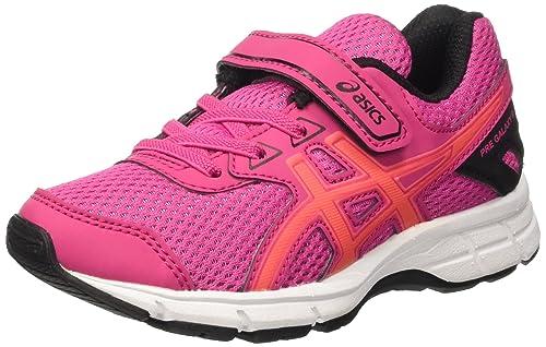 54da9e5864bc7 ASICS Kids  Pre Galaxy 9 Ps Training Shoes Multicolor (Sport Pink Flash  Coral