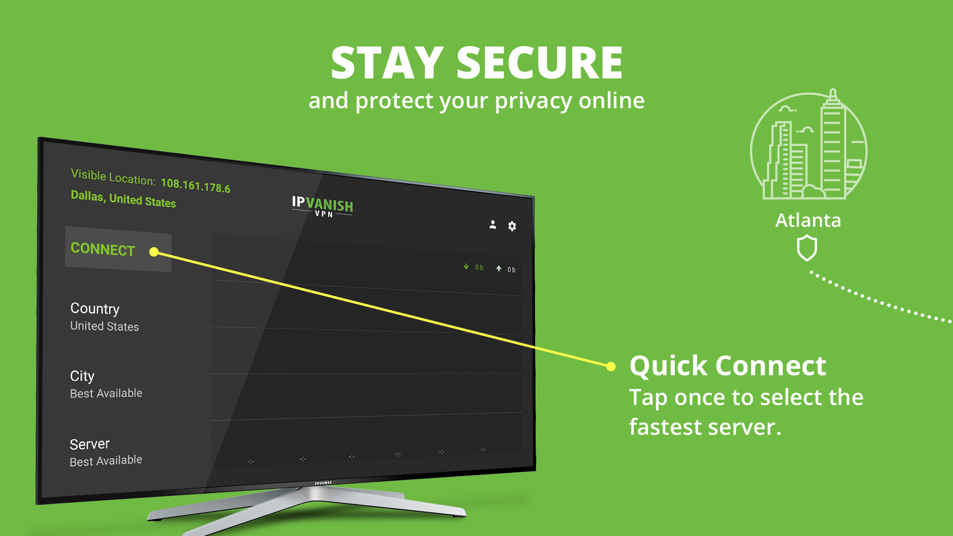 Size Review VPN  Ip Vanish