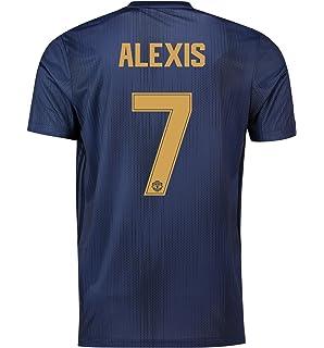 090badb6d Manchester United FC Official Football Gift Mens Third Away Kit Shirt 2018  2019 Navy Blue