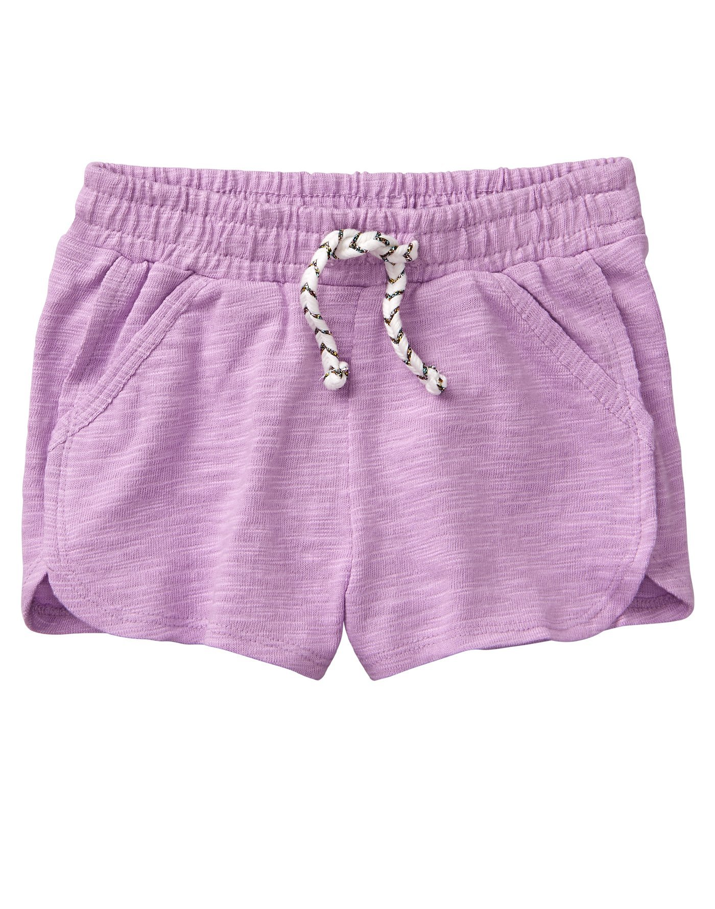 Gymboree Toddler Girls' Dolphin Short, Lilac, 2T