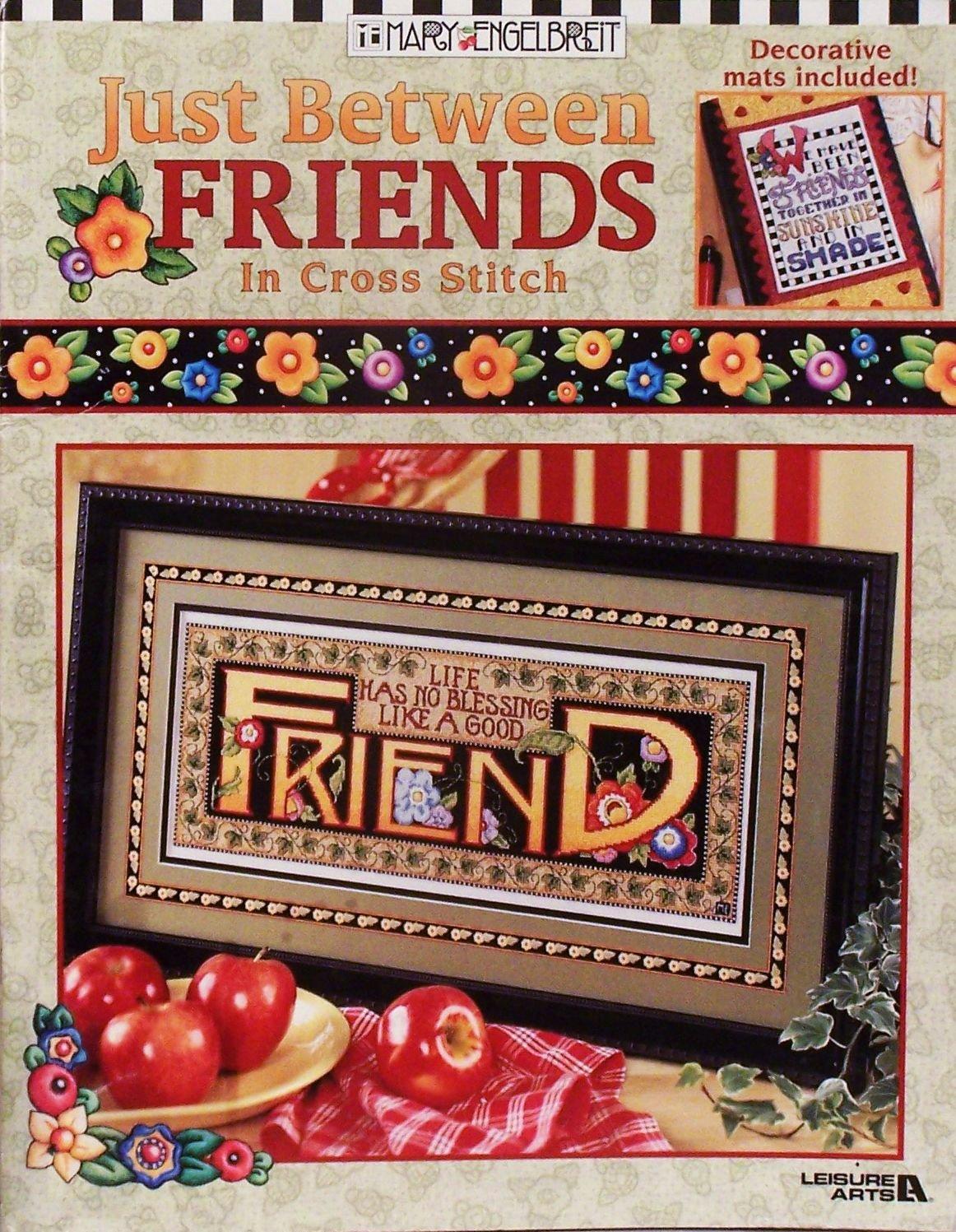 Just Between Friends  in Cross Stitch Mary Engelbreit