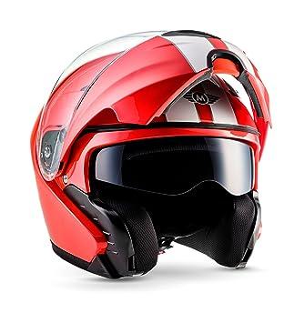 Moto Helmets F19 Racing Botes de casco de scooter Casco Cruiser Casco Modular de casco de