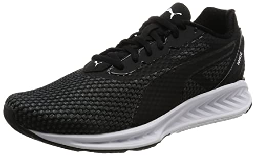 4809956aacf95b Puma Ignite 3, Scarpe Running Uomo, Nero Black-Quiet Shade White 05,