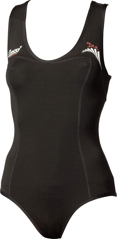 Cressi Womens Dea Swimsuit Swimming Neoprene Wetsuit 1mm M//3 Black
