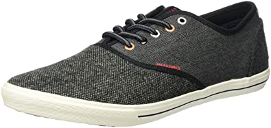 JACK  JONES Herren Jfwspider Mixed Wool Sneaker Low Top