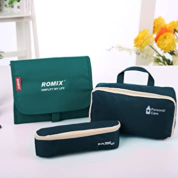 Makeup Bag Travel Cosmetic Bags Brush Aroko Pouch Toiletry Kit Fashion  Women with Zipper d6584e07c06ee