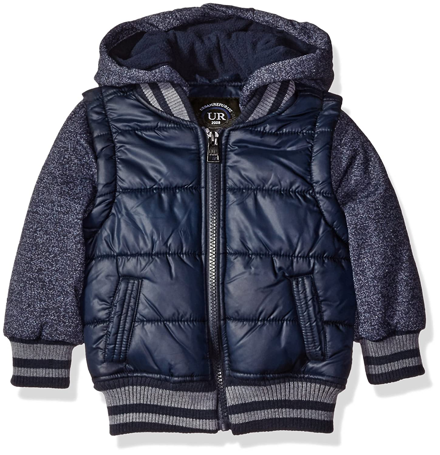 Urban Republic Baby Boys' Infant Heavyweight Polyester Puffer Jacket 6135I