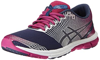ASICS 3 T462N Mujer GEL LYTE33 3 ASICS corriendo Zapatos Nvy/Lightning/Plum 8af9fa
