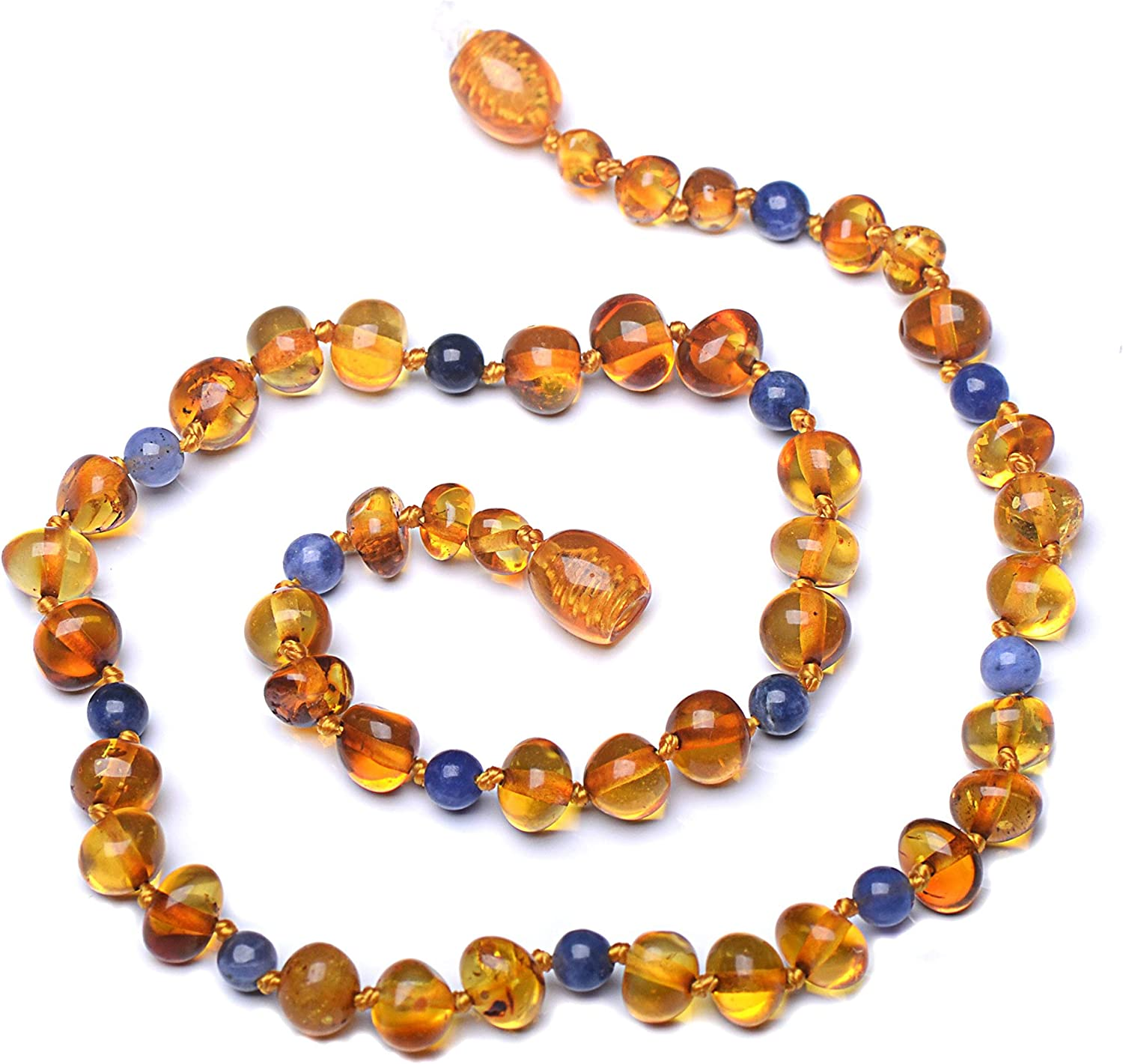 New Baltic Amber Necklace 100/% Natural Authentic Certified Handmade Polished Cognac Amber Beads 50/% Richer /& Higher in Value