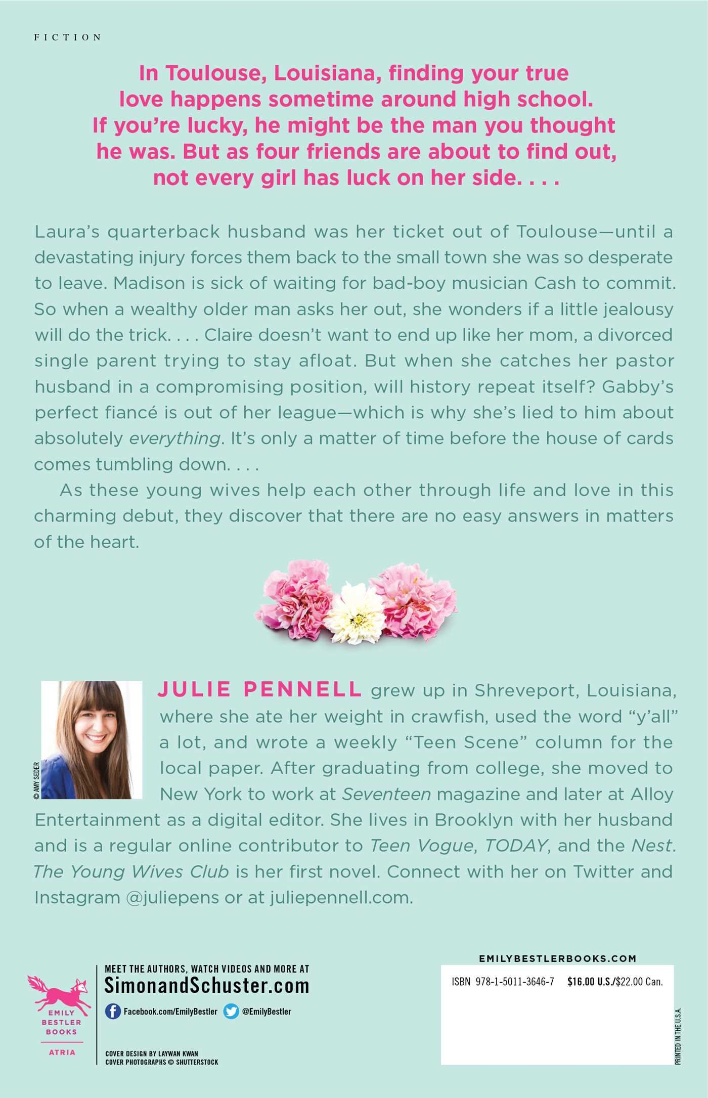 The Young Wives Club: A Novel: Julie Pennell: 9781501136467: Amazon:  Books