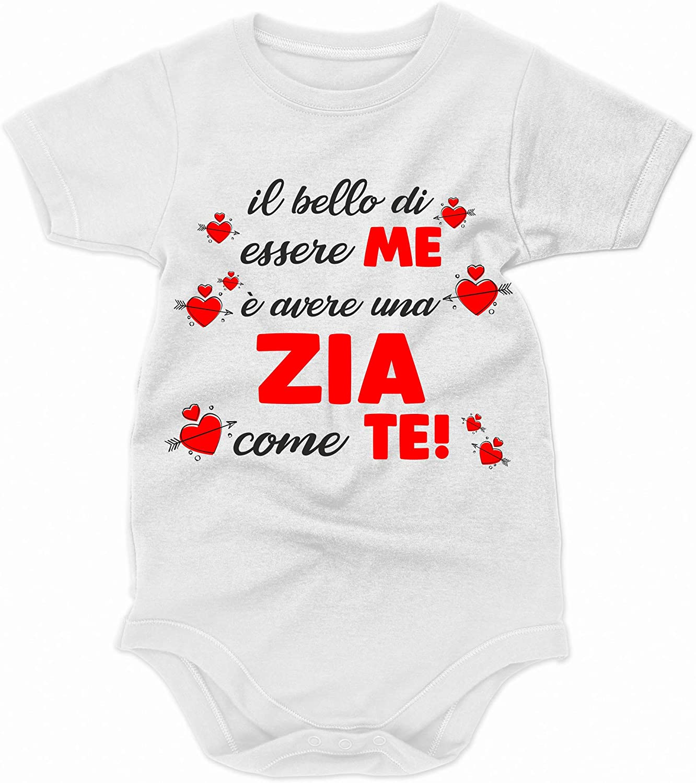 Idea Regalo Body Zia Body Neonato Divertente Il Bello di Essere Me /è Avere Una Zia Come Te!