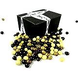Cuckoo Luckoo Gourmet Chocolate Espresso Beans Blend, 1 lb Bag in a BlackTie Box