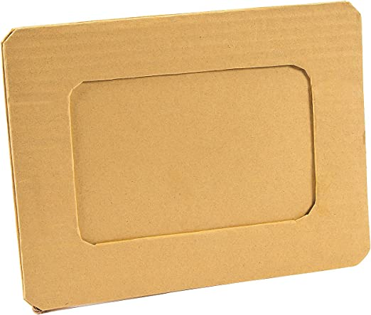 4 X 6 48 Pieces Fun Express DIY Paper Mache Frames DYO Stationery Paper Craft Kits -48 Pc