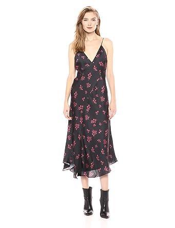 44440b88bcf Keepsake The Label Women s Infinity Sleeveless Silky Midi Dress at ...