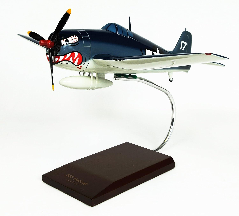 Mastercraft Collection Grumman F6F-3 F6F Hellcat World War II Pacific Fighter Aircraft Plane Airplane USN Navy USMC Marine Corps Royal Navy Model Scale:1//32